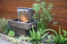 Mini Water Garden Ideas Water Without For Unique Small Garden Ideas Nytexas