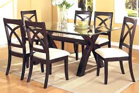 wood dining room table sets glass top dining table set 4 chairs round glass dining room table