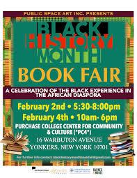 lexus of yonkers public space art announces black history month book fair pelham