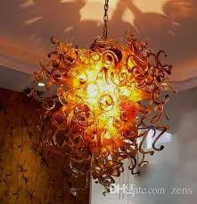 Antique Glass Chandelier Artistic Lamps Fancy Glass Lighting Antique Blown Glass Chandelier