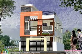 2 floor indian house plans modern south indian home design 1900 sq ft kerala home design