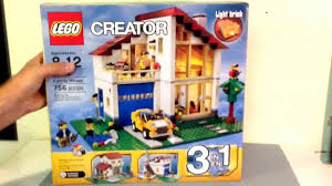 lego creator set 31012 family house review animation build