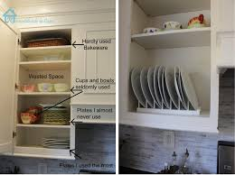 inside kitchen cabinet ideas remodelando la casa diy inside cabinet plate rack