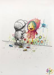 i love you dran signed limited edition print hang up gallery