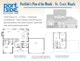 home plan of the month portside builders u2022 new home ideas