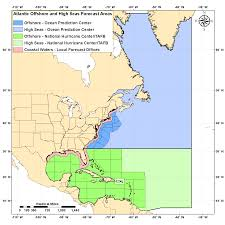Local Weather Map Nws Marine Forecast Areas
