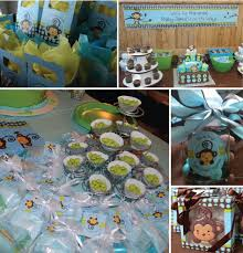 monkey baby shower theme monkey boy party ideas favors decorations monkey boy baby