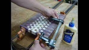 Cutting Board Designer Making An Endgrain Cutting Board Pt 3 Youtube
