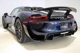 navy blue maserati gorgeous porsche 918 spyder weissach for sale in new york gtspirit