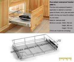 kitchen cabinets baskets only then stainless steel kitchen cabinet accessory waterproof