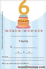 Coloriage Carte invitation anniversaire  cartes invitation