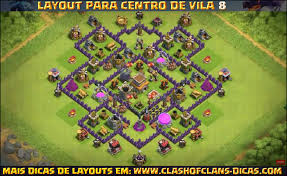 layout vila nivel 9 clash of clans layout para cv8 com torre de bombas leyalts pinterest