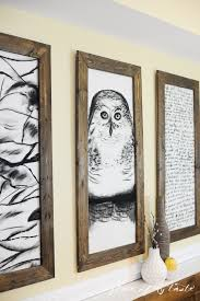 wood frame wall decor the thing that makes our livesand homes beautiful