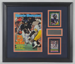 lot detail walter payton autographed sports illustrated u0026 signed