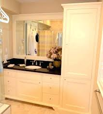 Bathroom Vanities And Linen Cabinet Sets Top Catchy Bathroom Vanities And Linen Cabinets With Sink