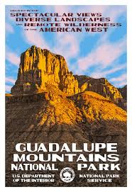 Department Of The Interior National Park Service Big Bend National Park U0026 Guadalupe Mountains National Park Posters