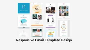 how to create a html email template responsive email template