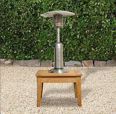 Patio Heaters Reviews Lovable Table Top Patio Heater With Fire Sense 10000 Btu Propane