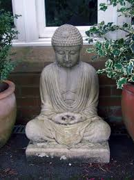 large garden ornaments meditation buddha statue s s shop