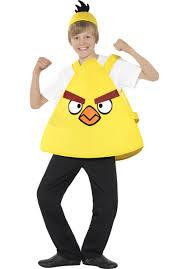 Angry Birds Halloween Costume Kids Chuck Yellow Angry Birds Tabard Costume Escapade Uk
