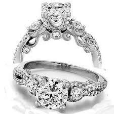3 engagement rings 3 vintage engagement rings wedding promise
