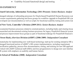 hr business consultant resume sample senior business analyst resume senior business analyst