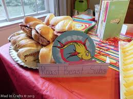 dr seuss party food dr seuss party food mad in crafts
