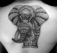 elephant tattoo tribal elephant tattoo for women