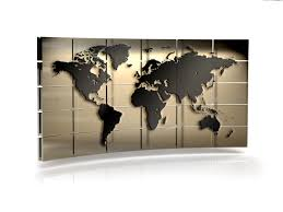 World Wall Map by World Map Wall Psdgraphics