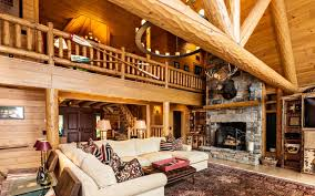 the green acres log home 3936 sq ft beaver mountain