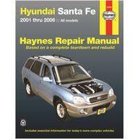 2006 hyundai santa fe manual 2010 hyundai santa fe repair manual vehicle maintenance