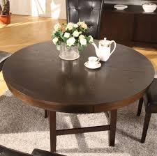 Copper Dining Room Table 54 Inch Round Dining Table Luca Pedestal Dining Table In Black