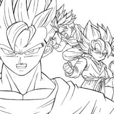 dragon ball z coloring books all about coloring pages literatured