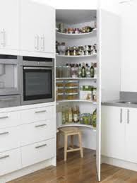 Small White Corner Cabinet by Corner Pantry Like This Idea For A Kitchen Remodel Corner