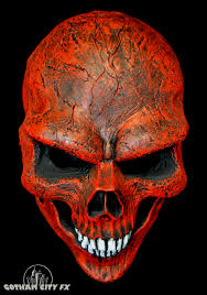red ghost rider skull mask gotham city fx online store powered