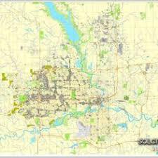 map usa iowa des moines printable and editable map iowa usa vector