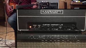 Marshall 412 Cabinet Marwatt 18 Watt Amp Head And 1975 Marshall 412 Cabinet Marshall