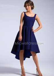 us 149 99 high low square neckline satin with bowknot homecoming