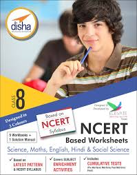 buy ncert based worksheets for class 8 science maths english