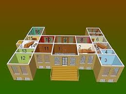 4 room house belton house