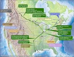 Pipeline Map Of North America by Neb Market Snapshot Enbridge U0027s Market Access Programs Part I