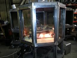 custom multi sided gas fireplaces acucraft fireplaces