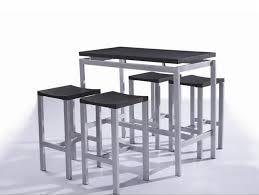 table haute de cuisine avec tabouret table et chaise de bar pas cher tabouret pour cuisine infodelasyrie