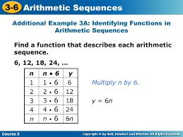 3 6 arithmetic sequences warm up problem of the day ppt video
