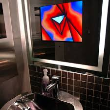 Bathroom Mirror With Tv by Bathroom Mirrors With Built In Tvs By Seura Digsdigs