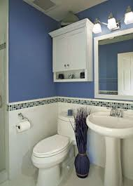navy blue bathroom ideas wall mounted white ceramic double sink