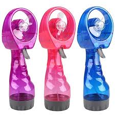 handheld misting fan new held water spray fan mist fan humidifier fan at