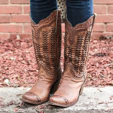 womens boots outfitters d d outfitters corral sand braided boots