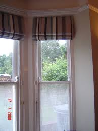 fabric blinds for bay windows dors and windows decoration