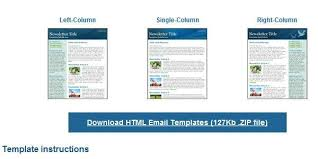 free html email templates top 25 free responsive html email